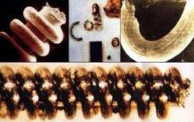 antiguas nanoestructuras que estan fuera de lugar y tiempo