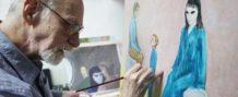 David Huggins, el pintor que asevera tener varios hijos engendrados por un alienigena