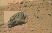 Descubren un cráneo alargado extraterrestre en Marte