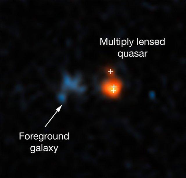 El quásar más brillante del universo temprano brilla con la luz de 600 trillones de soles