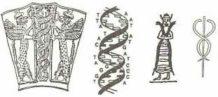 Los Anunnaki y el emblema de serpientes entretejidas