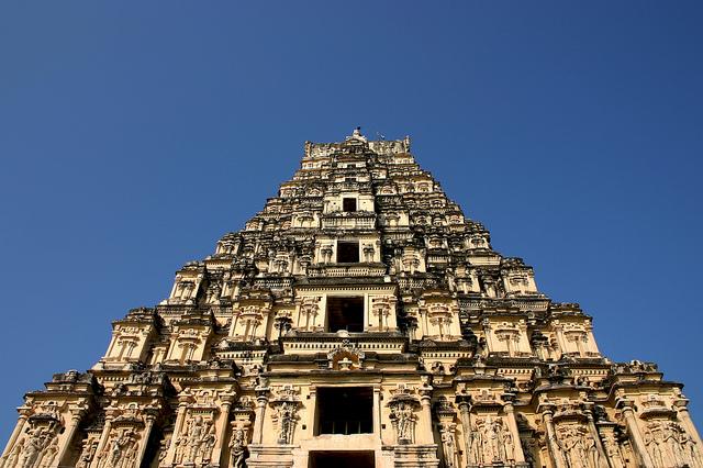 Los templos Vímana en la India