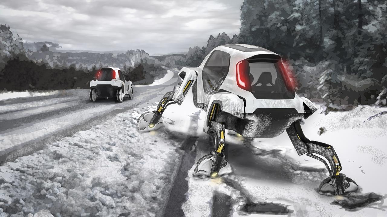Nos acercamos a los vehículos de starwars con este prototipo