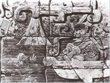 el mural que demuestra la existencia de la atlantida