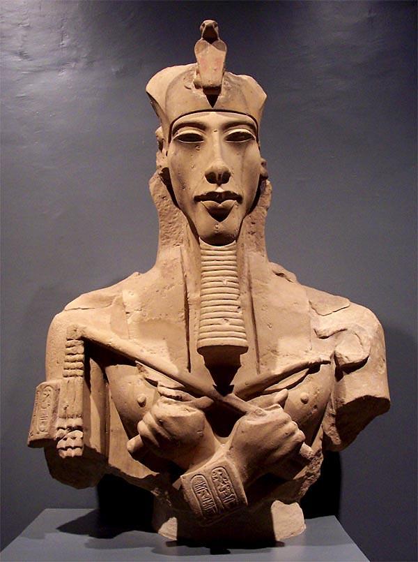 ¿El faraón Akenatón fue la 'última conexión con los dioses'?