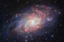 la galaxia del triangulo mejor imagen tomada hasta el momento