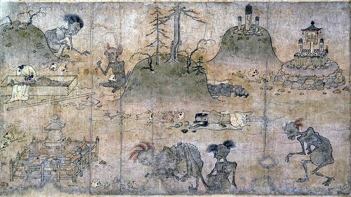 Los fantasmas hambrientos de Japón, Hidarugami