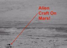 marte el rover fotografia una nave estrellada
