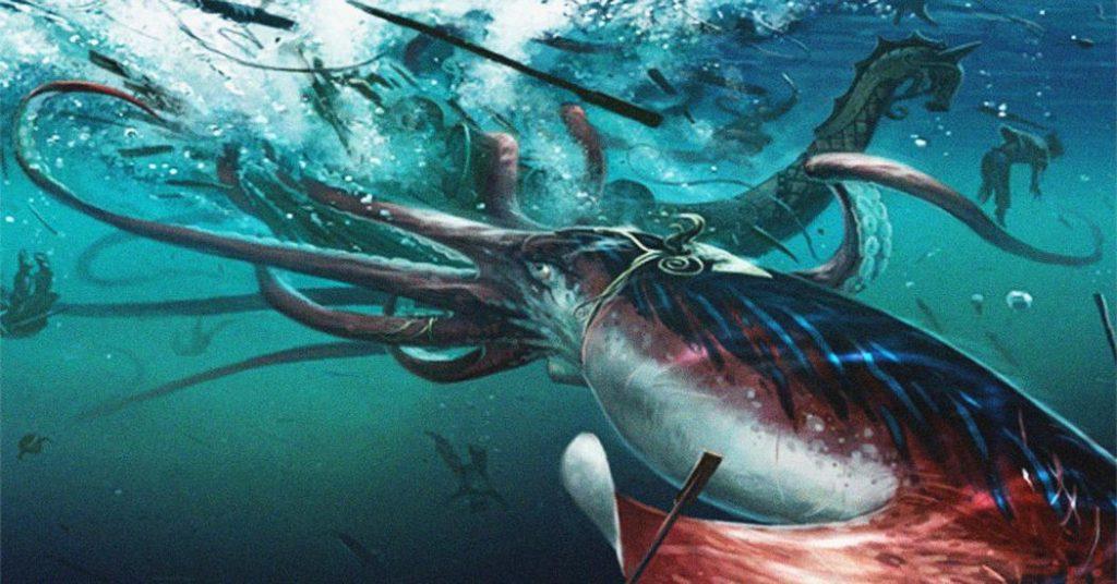 Criaturas terribles: Calamares gigantes