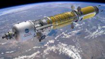 ee uu ensamblara una planta de propulsion nuclear en el espacio
