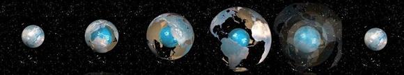La teoría de que el planeta está creciendo