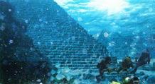 Piramide colosal a 60 metros bajo el mar en las Azores