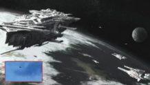 Avistamiento alienigena ¿nave nodriza extraterrestre en Naciones Bajos?