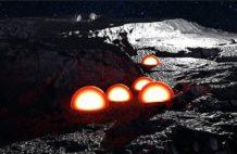 cupulas en la cara oculta de la luna