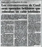EL CASO CONIL: El encuentro OVNI más IMPORTANTE de la cronica en España. Ets y metamorfosis