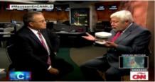 jaime maussan muestra el cadaver de un extraterrestre en un programa de la cnn video