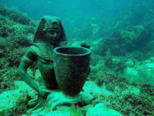 la historia bajo el mar de las antiguas civilizaciones