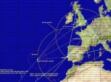 las lineas ley en europa y su influencia telurica