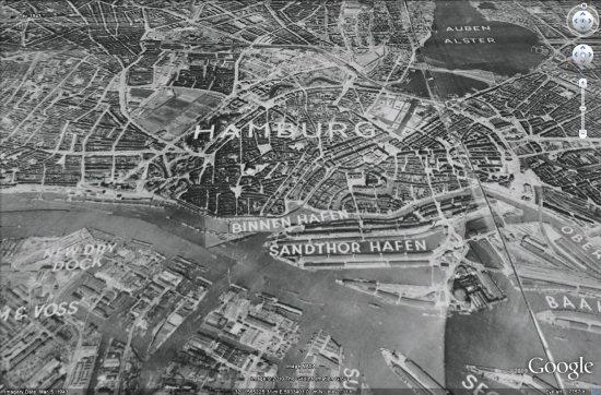 El asombroso vórtice espacio-tiempo de Hamburgo de 1932