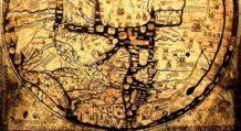 el mapamundi ciudades legendarias razas monstruosas y bestias curiosas un mapa mundial