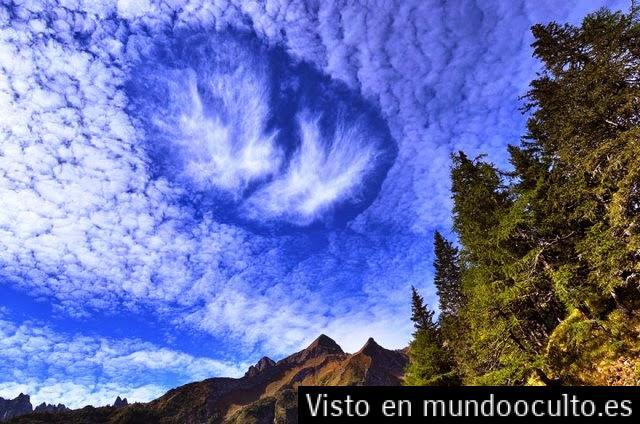Expertos meteorólogos desconcertados frente a las desconocidas nubes