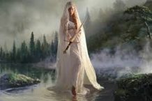 la dama del lago y la espada de la luz