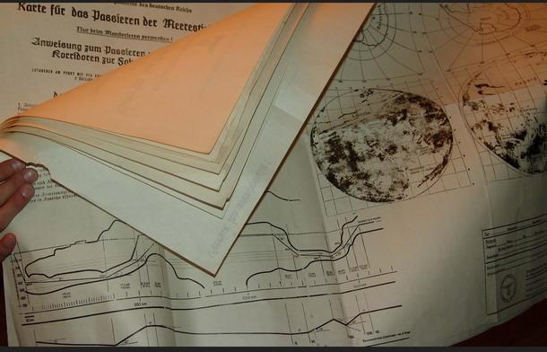 Documentos y mapas nazis confirman la existencia de Agartha, La Tierra Hueca