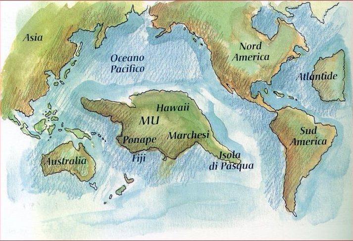La Guerra entre Atlántida y Lemuria. La Historía Atlante y Lemuriana