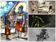 los dioses mayas aztecas eran realmente alien reptilianos