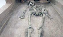 esqueletos de harappa excavadas en la india de civilizacion de mas de 5000 anos
