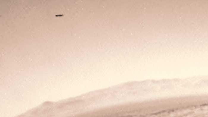 Imágenes captadas por el Curiosity en el cielo de Marte en 2015 de un raro objeto salen a la luz