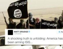 los estadounidenses se despiertan drudge hace viral el secreto mas grande ee uu ha estado armando a isis
