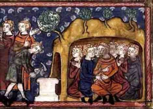 Viajes en el tiempo en textos antiguos