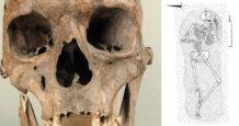 arqueologos descubren el esqueleto completo de una gigante en polonia