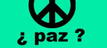 el simbolo de la paz mundial no quiere decir paz