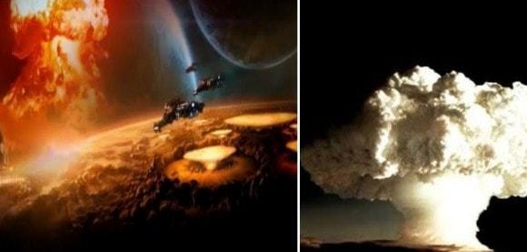 La civilización de Marte fue destruida por una GUERRA NUCLEAR
