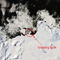 alerta climatica se fractura la antartida la nasa capta la formacion de un nuevo iceberg monstruoso