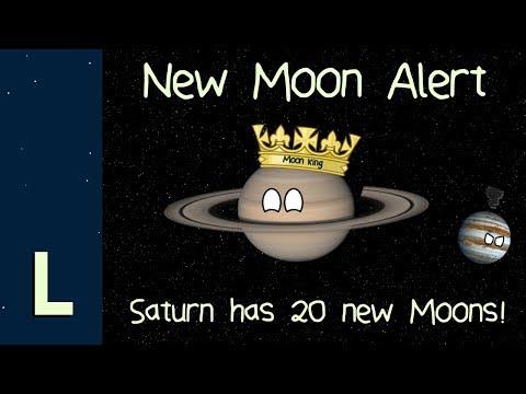Astrónomos encuentran 20 lunas nuevas en órbita alrededor de Saturno