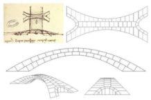 da vinci diseno un puente que hubiera sido el mas largo del mundo