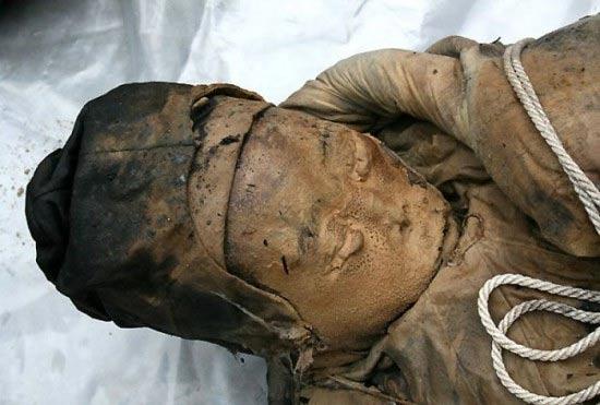 el descubrimiento de una mujer impecablemente preservado de la dinastía Ming