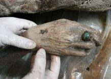 el descubrimiento de una mujer impecablemente preservado de la dinastia ming