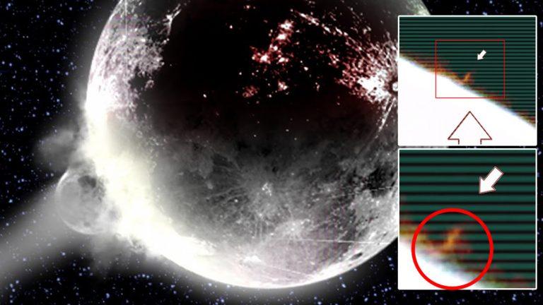 Enorme objeto se estrella contra la Luna, causa tres explosiones y es captado en vídeo -