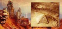 la cia publica documentos de piramides y la civilizacion extinguida de marte
