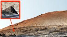 marte descubrio una piramide en las ultimas fotografias grabadas por la curiosidad rover