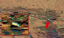 marte una caja misteriosa es fotografiada por el rover spirit que nos esta ocultando la nasa