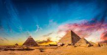 misterio no escrito por que no hay textos antiguos que mencionen alguna de las piramides de giza