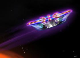¿Que aspecto tendría un avión electromagnético sin alas?