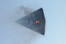 un tr 3b visto explotando en los cielos sobre el area 51