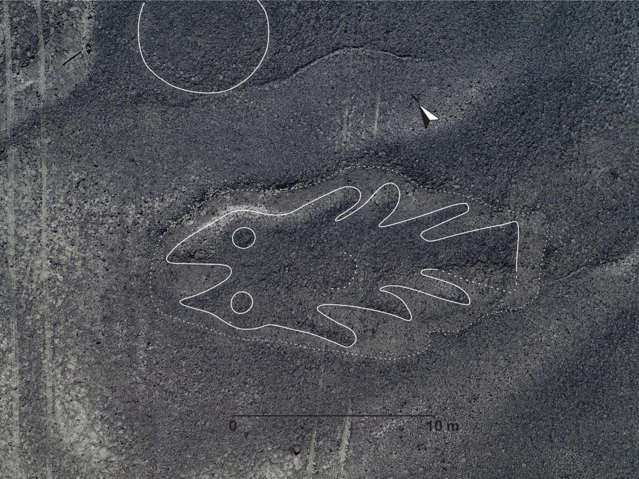 143 nuevos geoglifos descubiertos en la Pampa de Nasca y sus alrededores