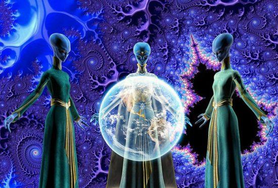 Cinco especies de alienígenas amigables que protegen al planeta tierra